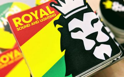 Sticker Giant gives nod to Royal Sound and Lighting!